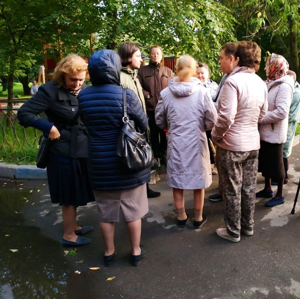 Один из защитников парка полемизирует с прихожанами РПЦ